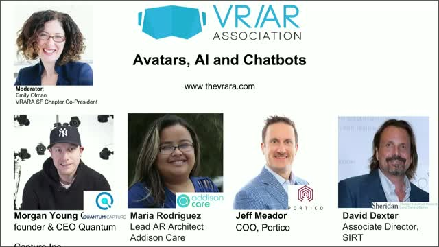 Avatars, AI and Chatbots