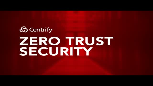 Rise above the Noise - Zero Trust from Centrify