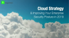 Cloud Strategy & Improving Your Enterprise Security Posture in 2019