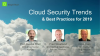 Cloud Security Trends and Best Practices for 2019