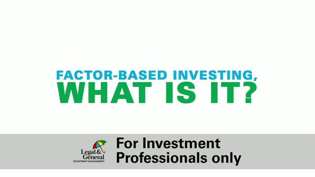 Factor-based Investing, what is it?