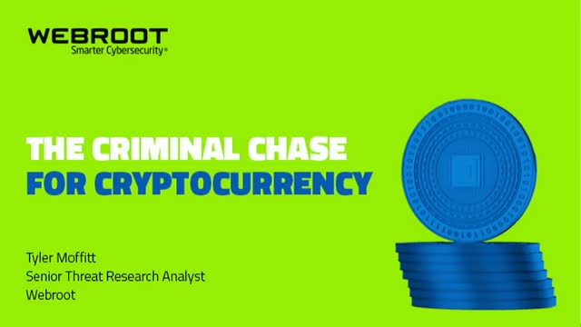 The Criminal Chase for Cryptocurrency