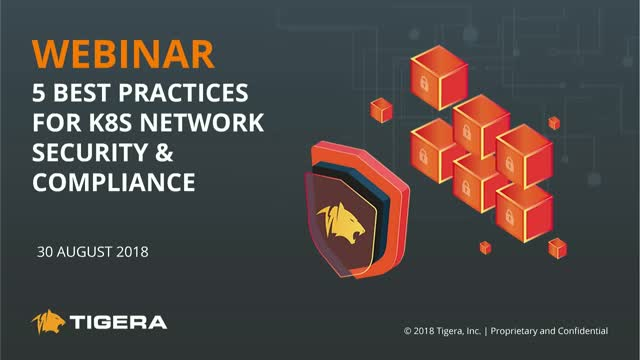 Top 5 Best Practices for Kubernetes Network Security and Compliance