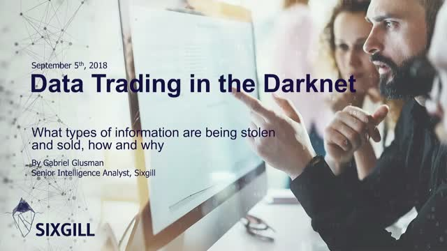 Data Trading in the Darknet: What Types of Information are being Sold, and Why