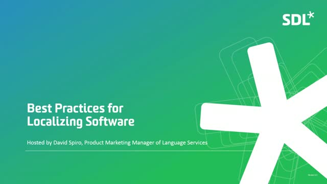 Best Practices for Localizing Software and Apps