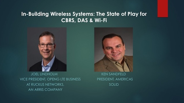 """In-Building Wireless Systems: The State of Play for CBRS, DAS & Wi-Fi"