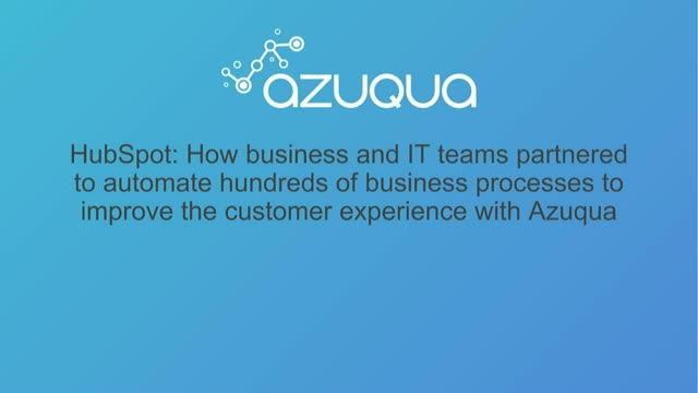 How to Automate Hundreds of Business Processes to Improve Customer Experience