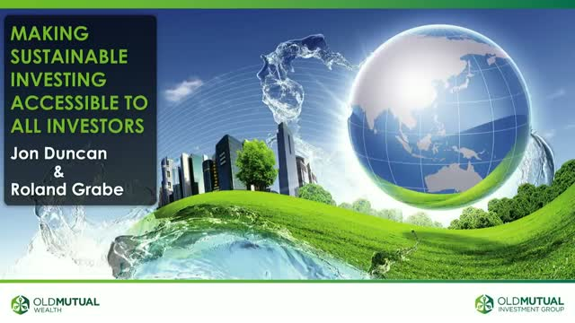 Making Sustainable Investing Accessible to All Investors