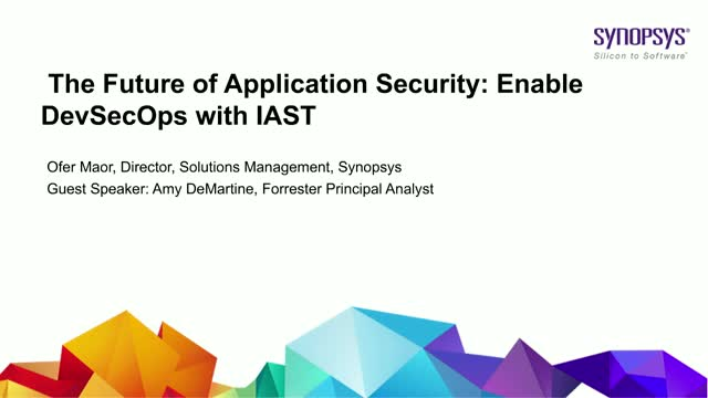The Future of Application Security: Enable DevSecOps with IAST