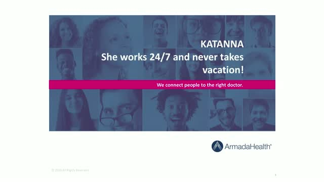 Meet Katanna – Does the work of thousands, runs 24/7 and never takes a vacation!