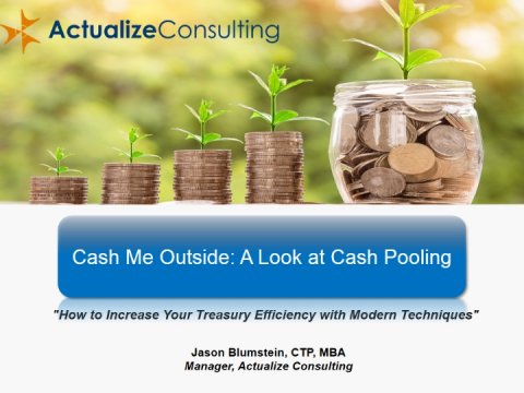 Cash Me Outside: A Look At Cash Pooling