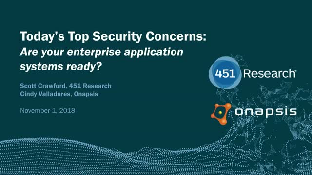 Today's top security concerns: Are your ERP applications ready?