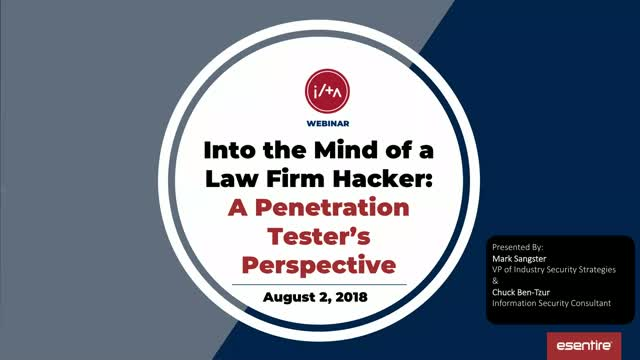 Into the Mind of a Hacker: A Penetration Tester's Perspective