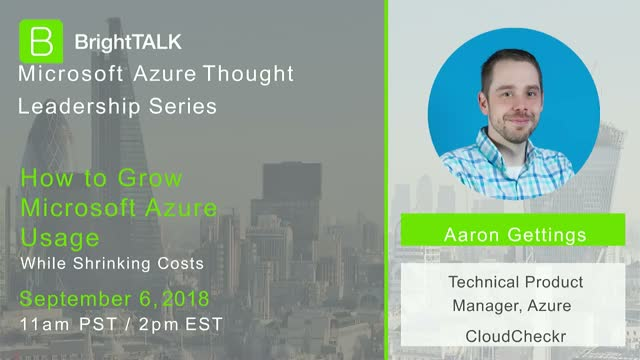How to Grow Microsoft Azure Usage While Shrinking Cloud Costs