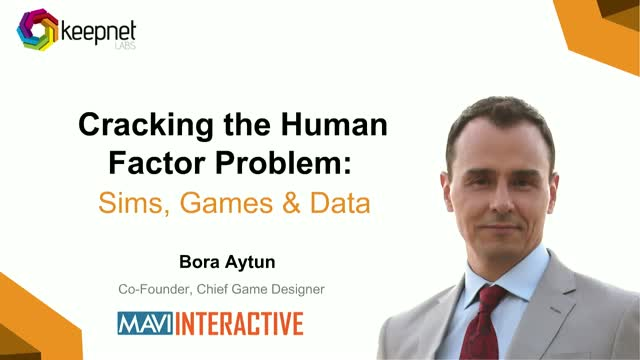 Cracking the Human Factor problem: Sims, games & data