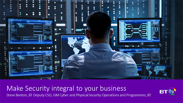 Make Security integral to your business