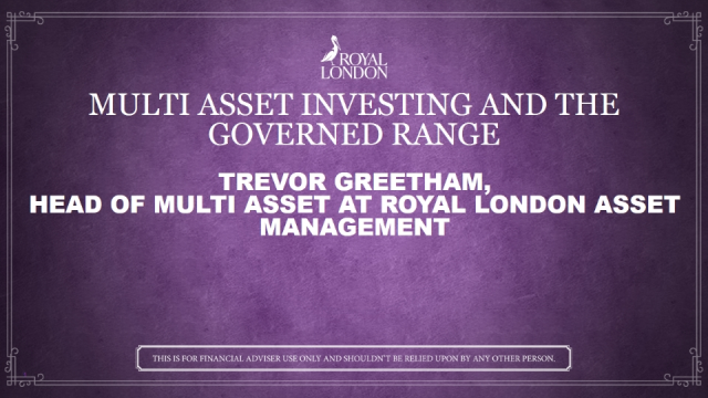 Multi asset investing and the Governed Range