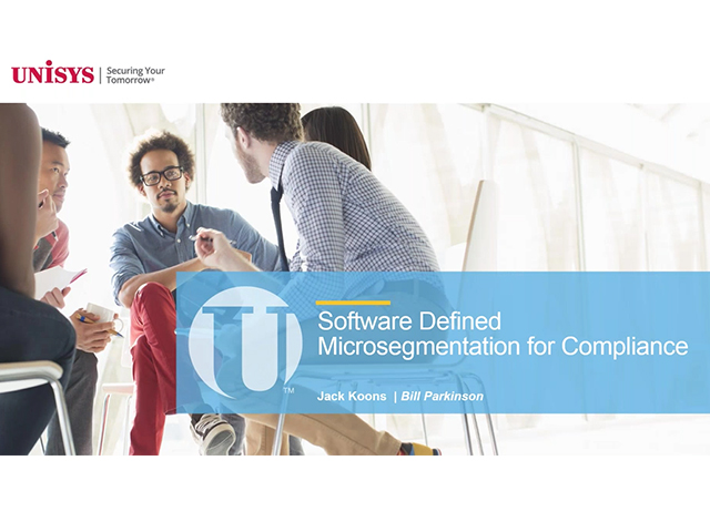 Software-Defined Microsegmentation for Regulatory Compliance