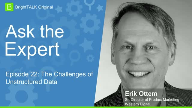[Ep.22] Ask the Expert: The Challenges of Unstructured Data