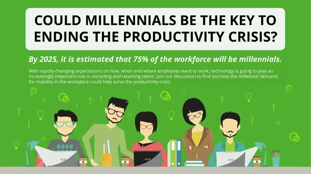 Could millennials be the key to ending the productivity crisis?