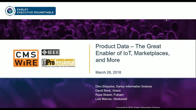 Product Data - the Great Enabler for IoT, Marketplaces, and more