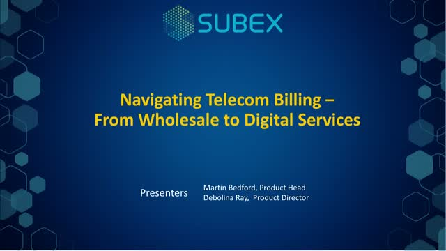 Navigating Telecom Billing – From Wholesale to Digital Services