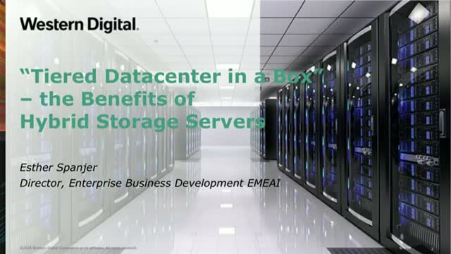Tiered Datacenter in a Box – the Benefits of Hybrid Storage Servers