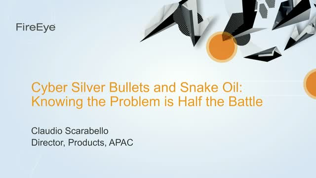 Cyber Silver Bullets and Snake Oil: Knowing the Problem is Half the Battle