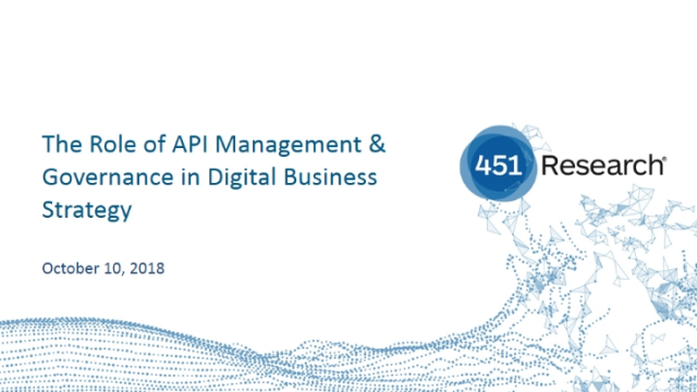 The Role of API Management & Governance in Digital Business Strategy