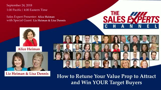 How to Retune Your Value Prop to Attract and Win YOUR Target Buyers