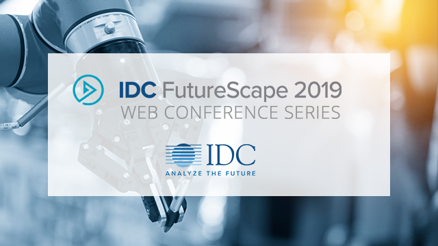 IDC FutureScape: Worldwide Robotics 2019 Predictions