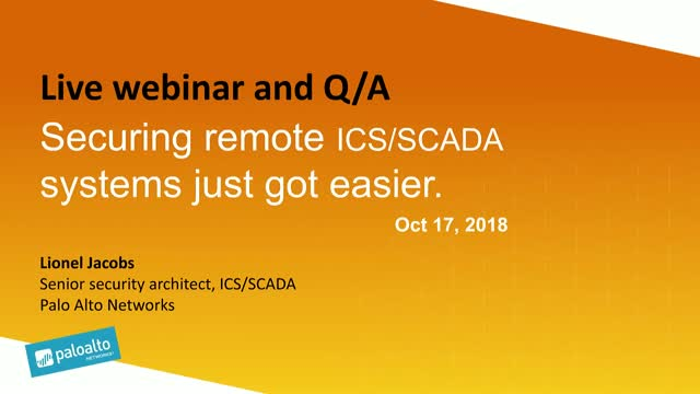 Securing remote ICS/SCADA systems just got easier