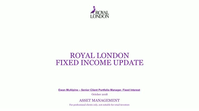 Fixed income 6 monthly update