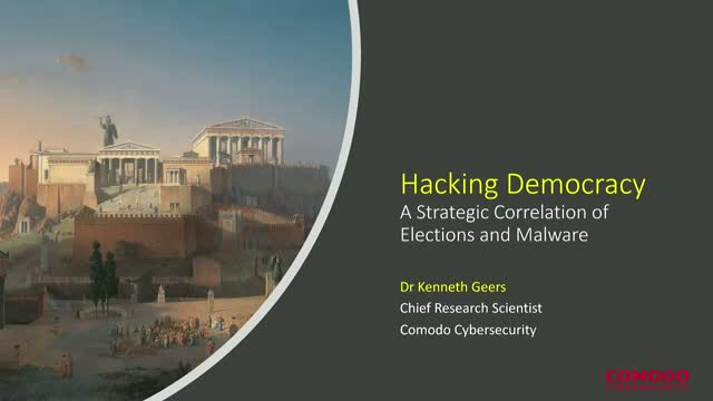 Hacking Democracy: A Strategic Correlation of Elections and Malware
