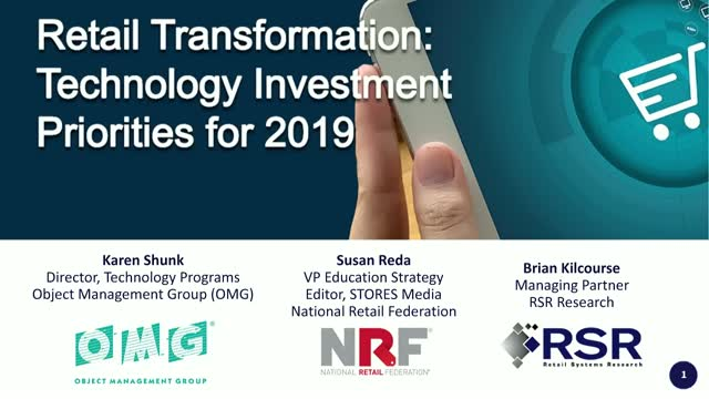 Retail Transformation: Technology Investment Priorities for 2019