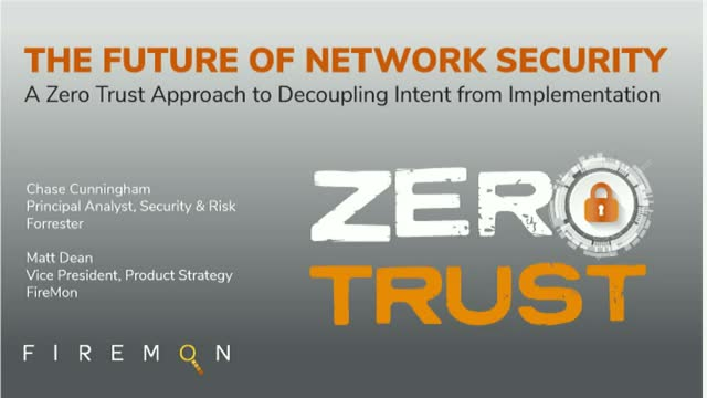 A Zero Trust Approach to Decoupling Intent from Implementation