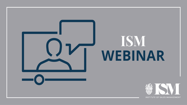 ISM Webinar: Could personalised technology give you that extra 10%?
