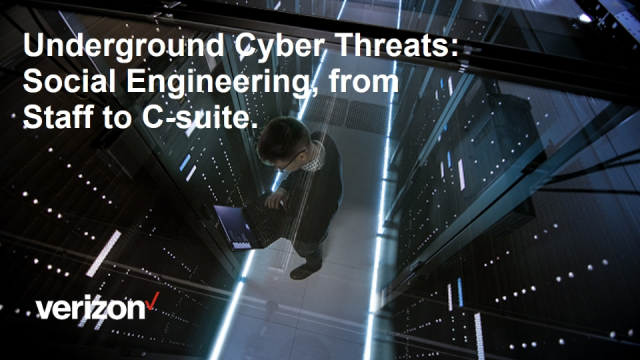 Underground Cyber Threats: Social Engineering. From Staff to C-suite.