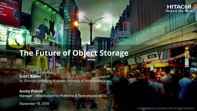 The Future of Object Storage