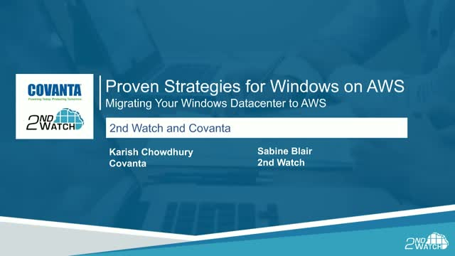 Proven Strategies for Windows on AWS