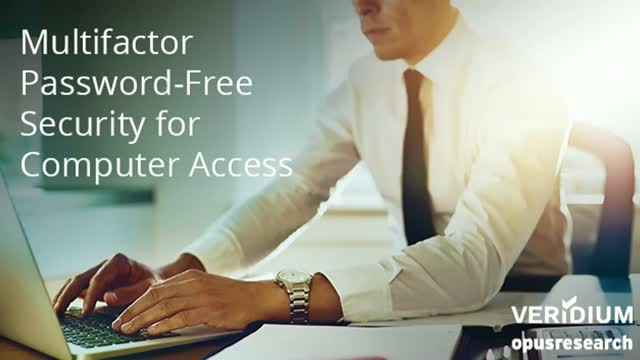 Multifactor Password-Free Security for Computer Access