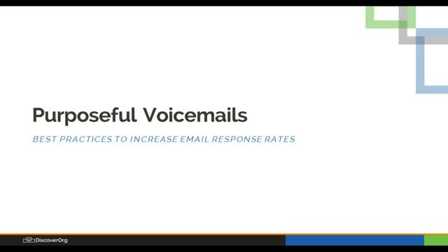 Purposeful Voicemails: Best Practices to Increase Email Response Rate