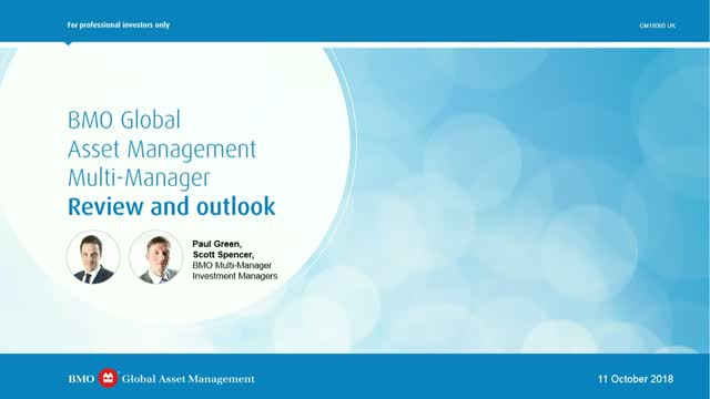 BMO Multi-Manager Review and Outlook