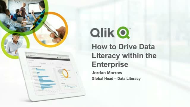 How to drive data literacy within the enterprise