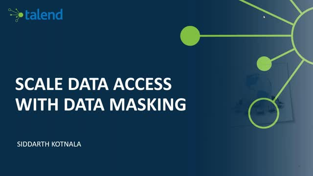 Scale Data Access with Data Masking
