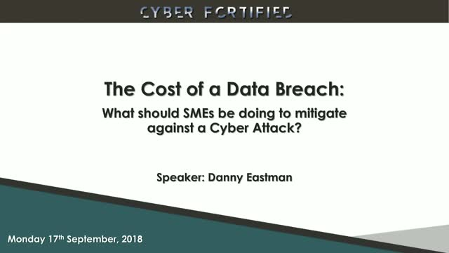 What Should SMEs be doing to mitigate against a Cyber Attack?