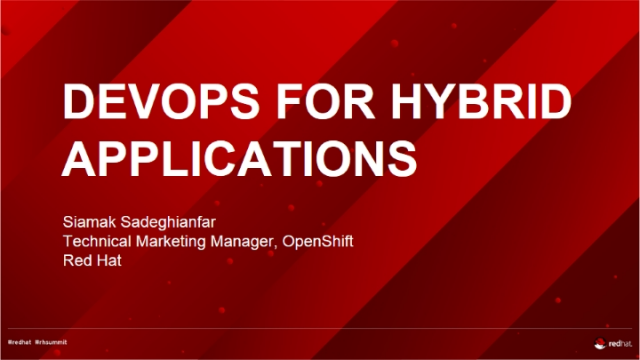 DevOps and Hybrid Applications: What You Need to Know (w/Demo)