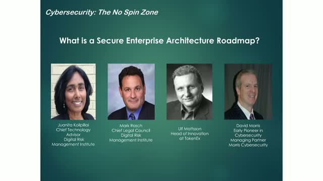 What is a Secure Enterprise Architecture Roadmap?