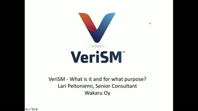 VeriSM - What is it and for what purpose?