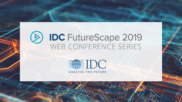 IDC FutureScape: Worldwide IT Industry 2019 Predictions